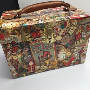 Santa Claus Christmas Storage Box